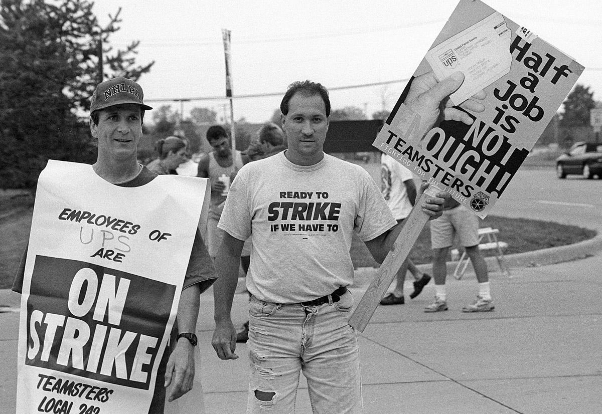 The UPS Strike, Two Decades Later