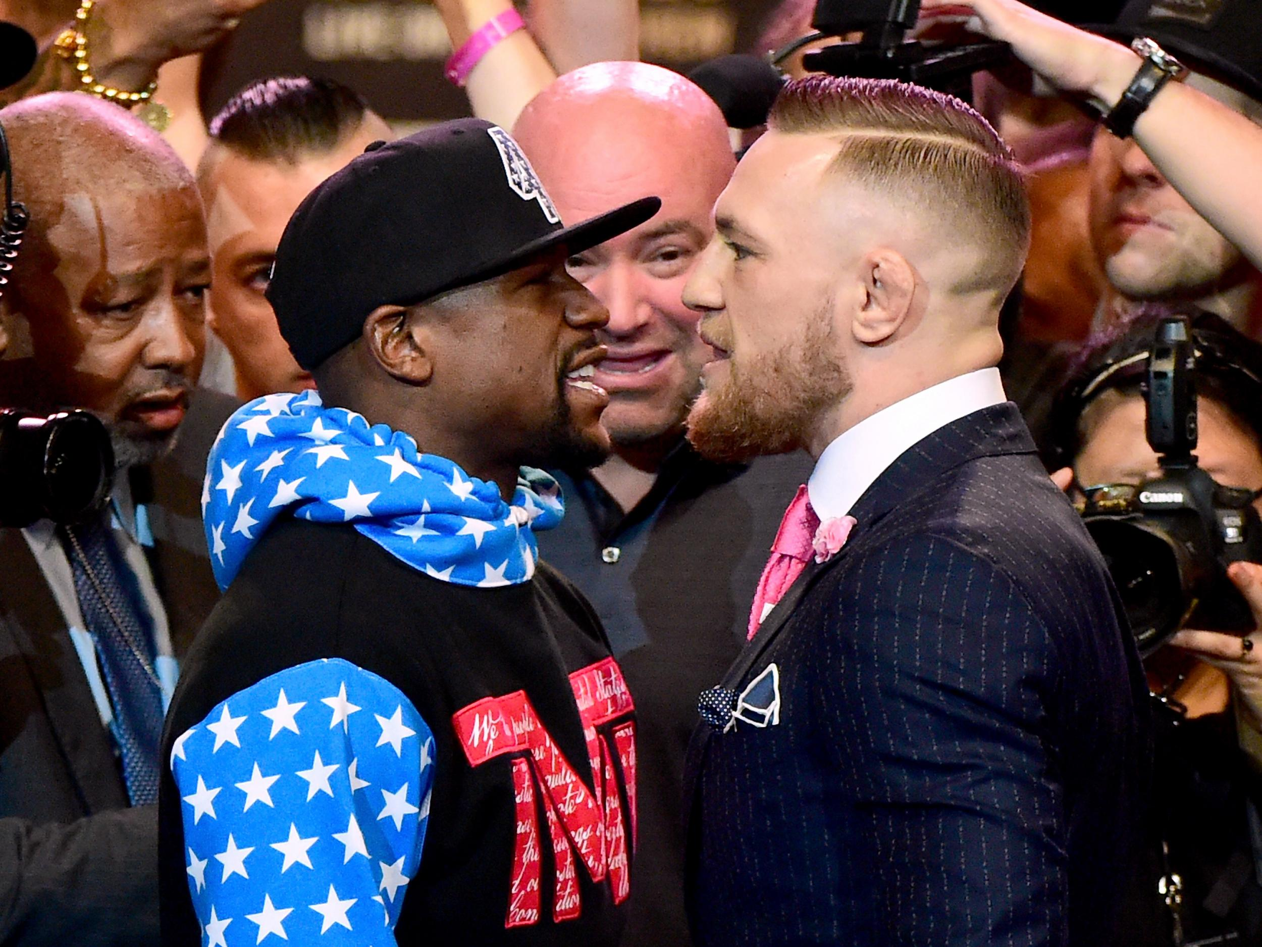 Gamecocks take sides on Mayweather-McGregor