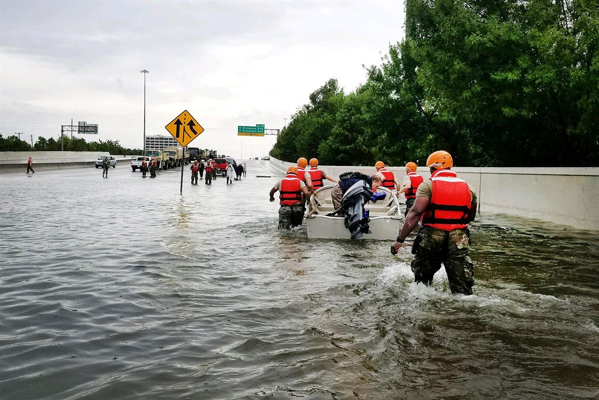 Curfew imposed in storm-ravaged Houston as death toll rises