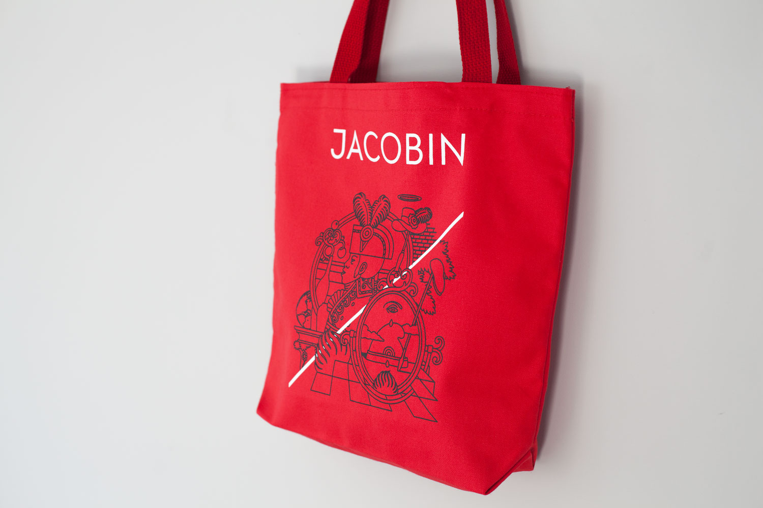 Tote bag (red side)