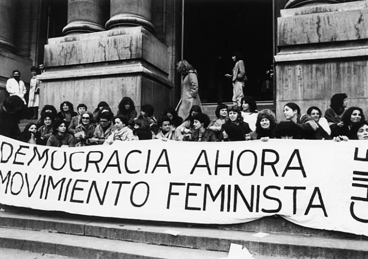 Reflections on anti communism feminists in santiago chile demonstrate for democracy during the military dictatorship of augusto pinochet wikimedia commons publicscrutiny Choice Image
