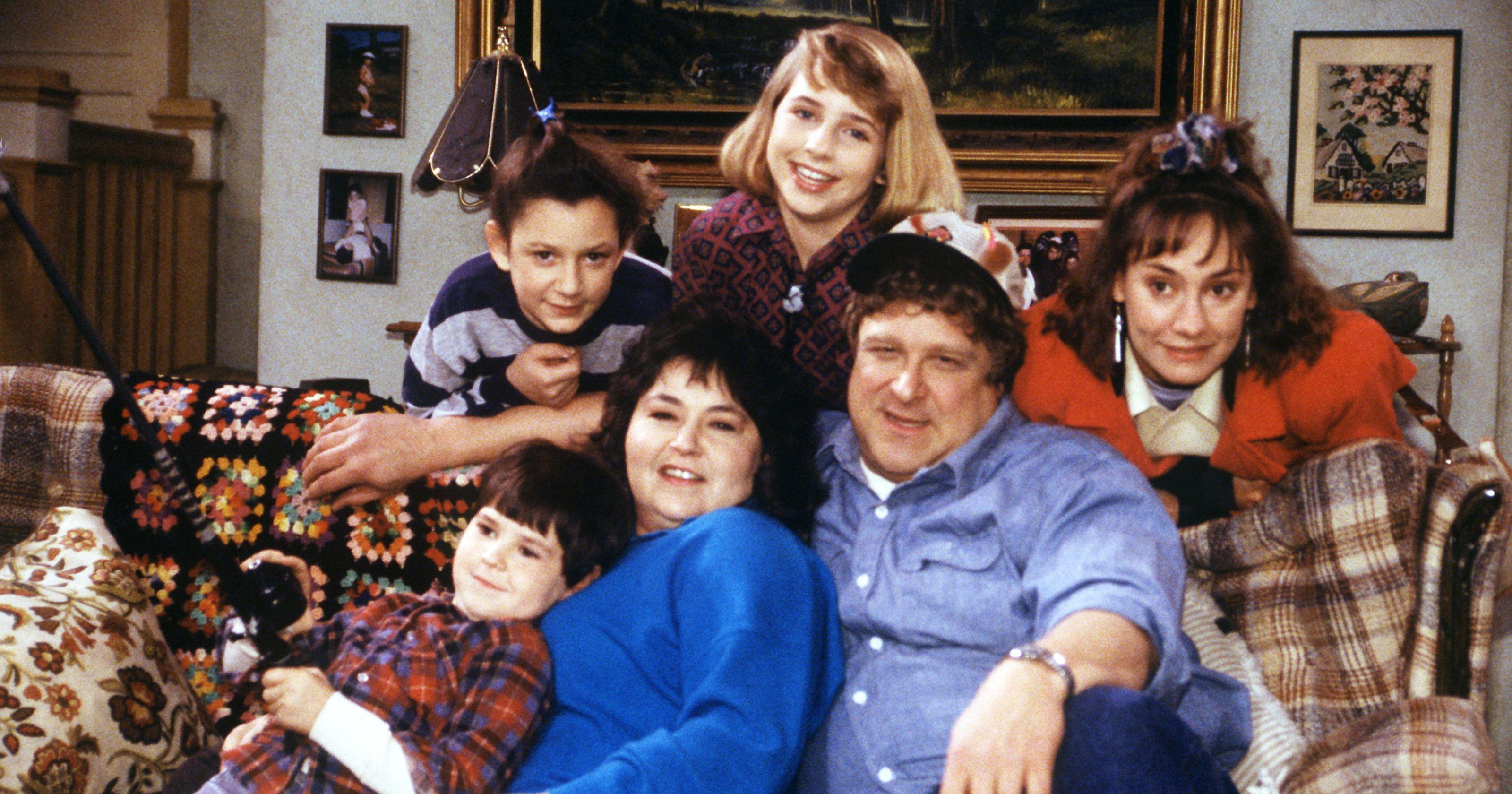 Znalezione obrazy dla zapytania roseanne family