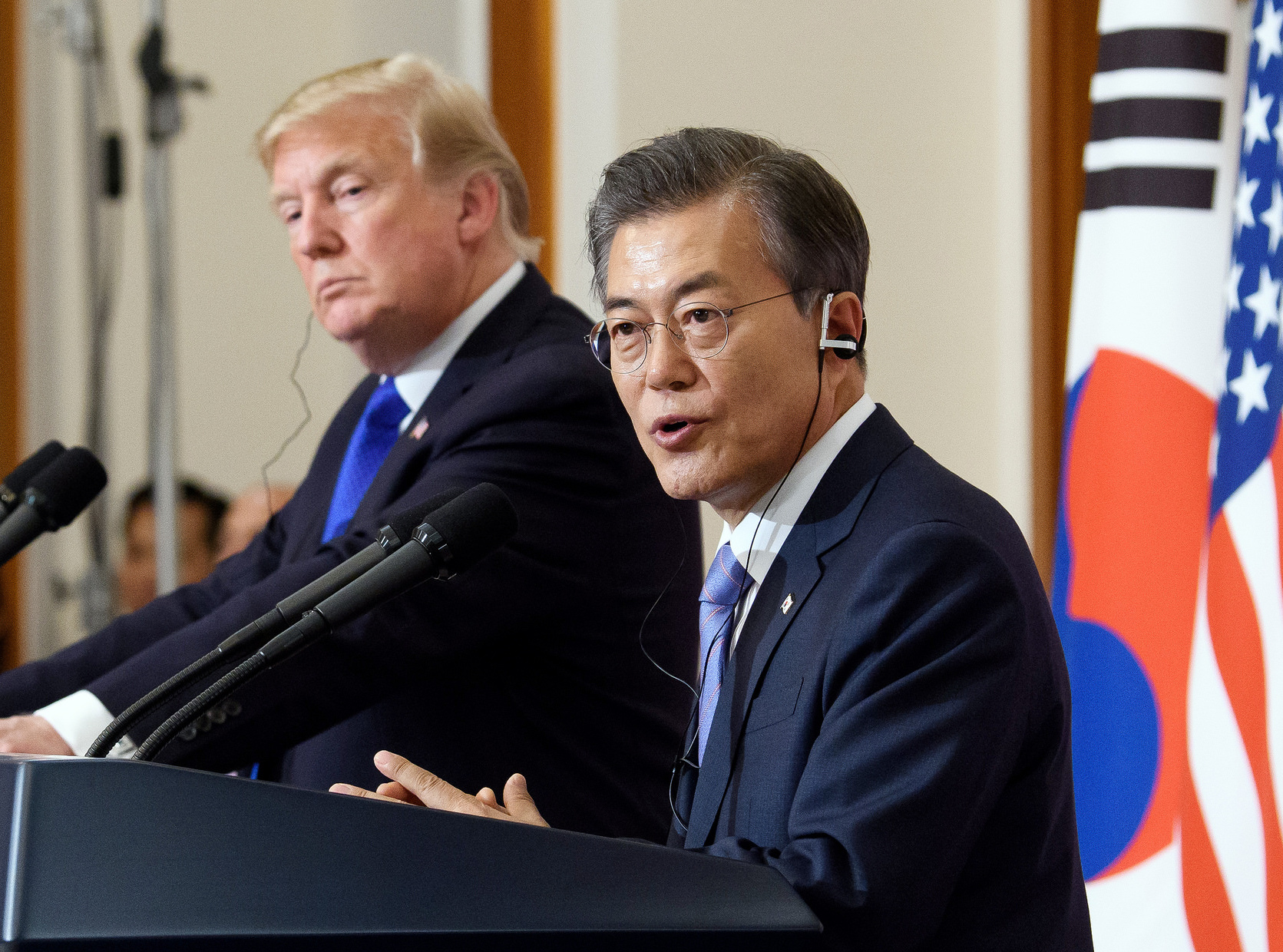 United States  'indefinitely' suspends select exercises with South Korea