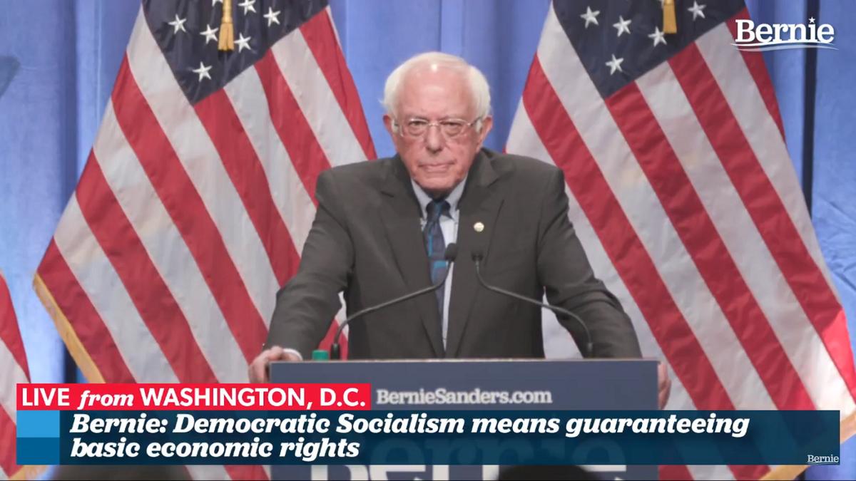 Bernie Has Opened the Door for Democratic Socialism