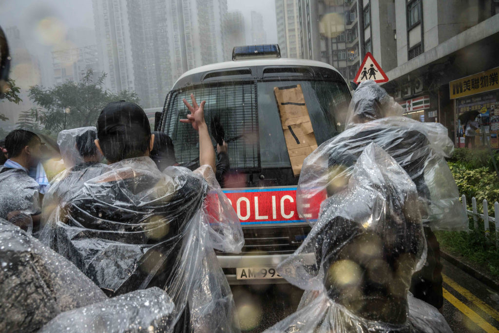 The Rebellion in Hong Kong Is Intensifying