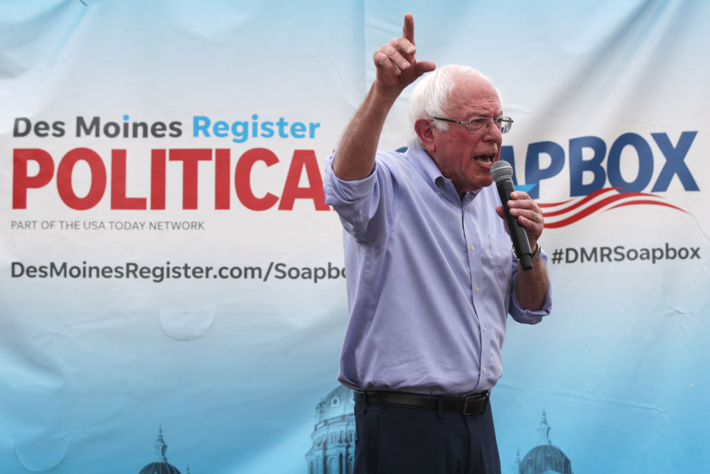 Claims of biased media coverage on Bernie Sanders from his ...