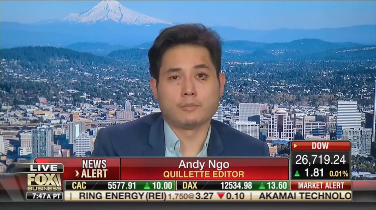 Portland's Andy Ngo Is the Most Dangerous Grifter in America