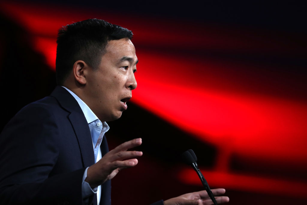 Andrew Yang Is Ross Perot for Millennials