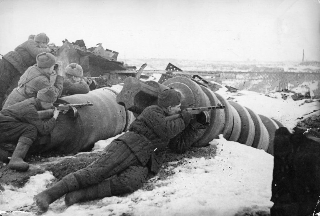 One Side Fought for Freedom at Stalingrad