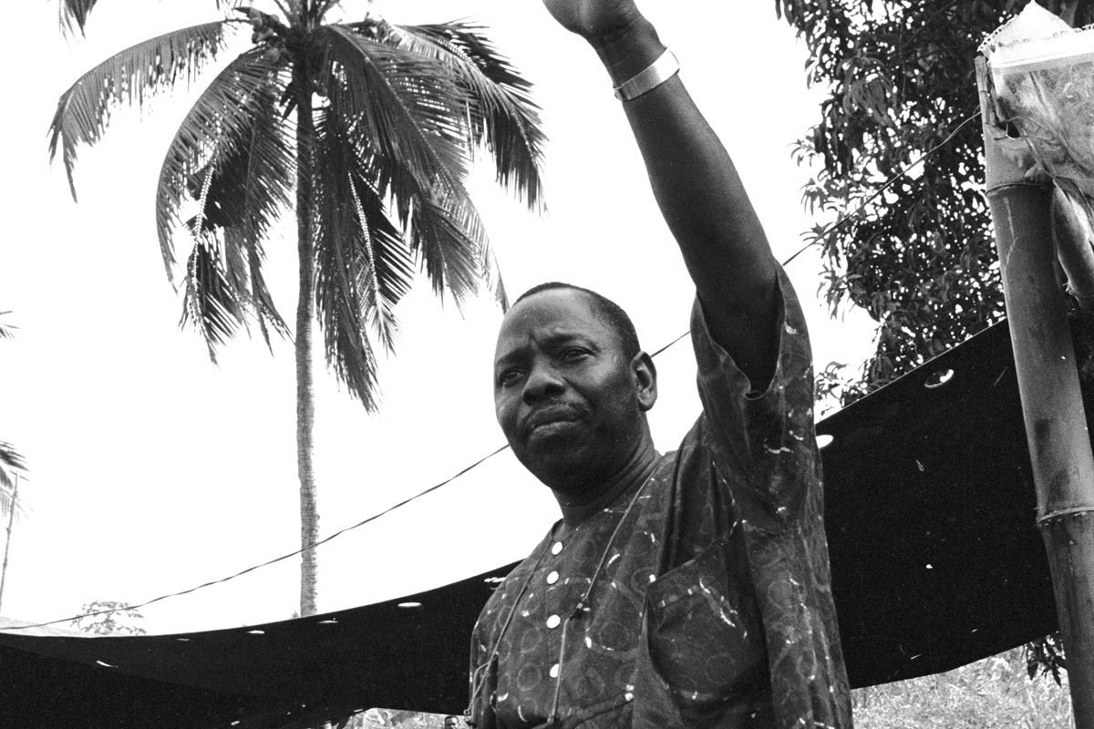 The Nigerian Activist Whose Death Shamed Shell