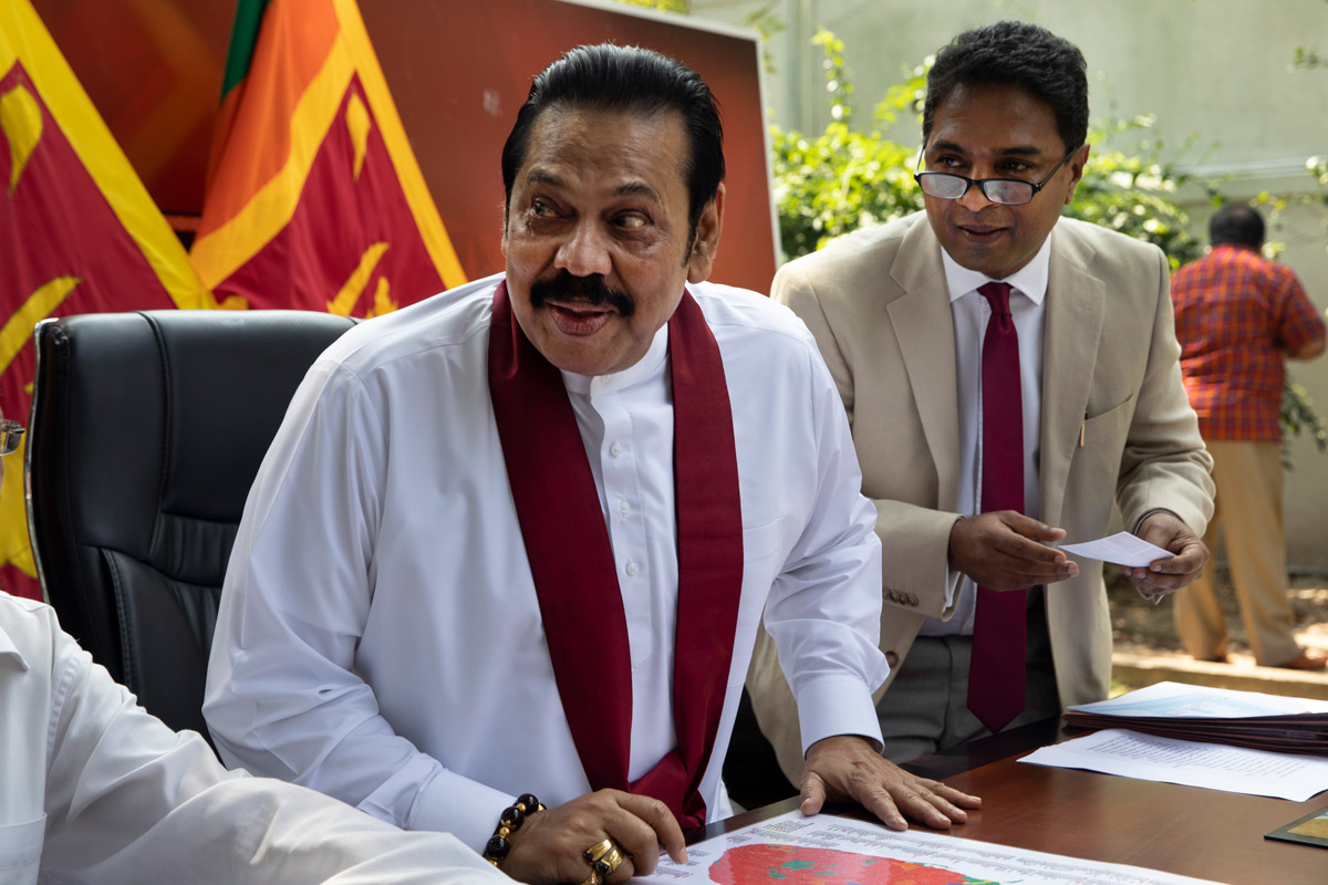 The Struggle for Democracy in Sri Lanka