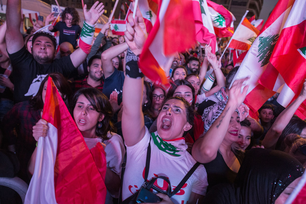 The Lebanese Uprising Continues
