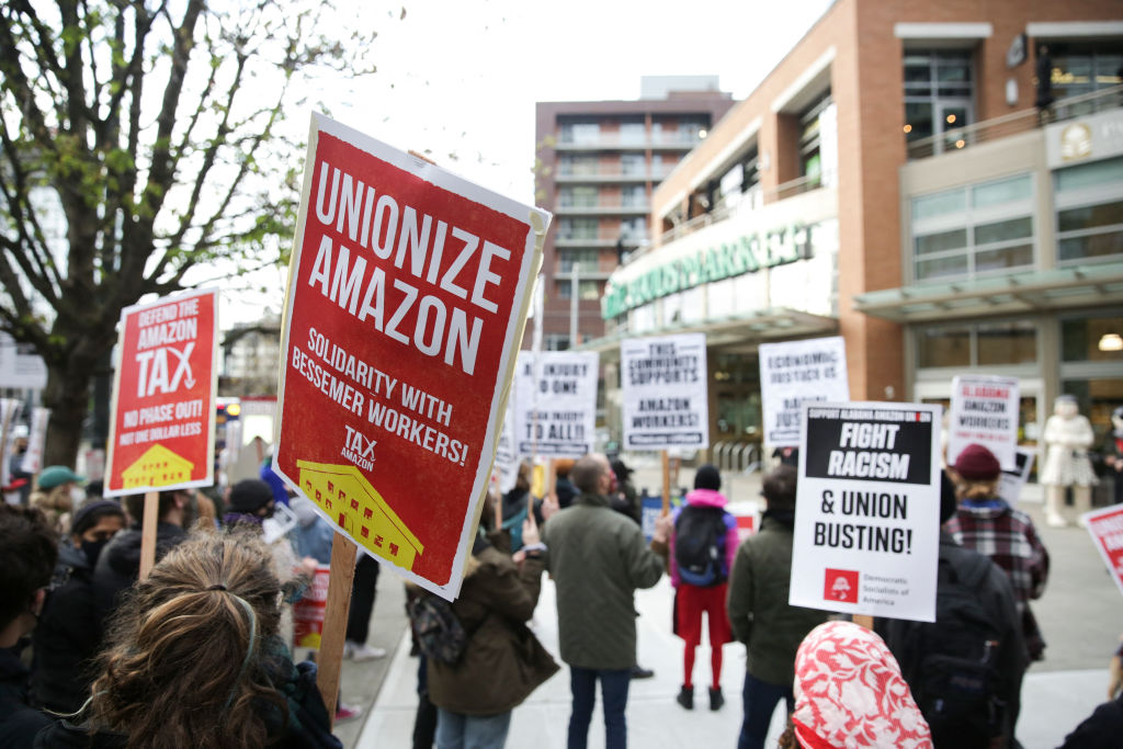 Amazon Workers Shouldn't Have to Work This Hard to Win a Union  image