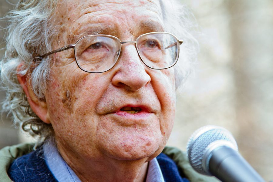 Noam Chomsky: Average People Still Have the Power to Stop Wars