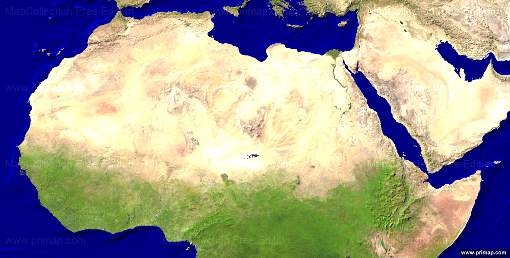 Where does Africa end and the Middle East begin