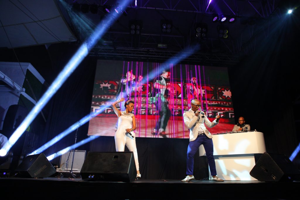 Mafikizolo Performing Photo Credit: Geotribe, MTV Networks Africa (Pty) Ltd.