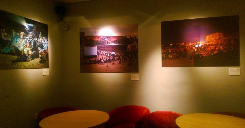 Exhibition, Ways We Watch Films in Africa, Edinburgh Filmhouse, 2015, Photo Credit: the author.