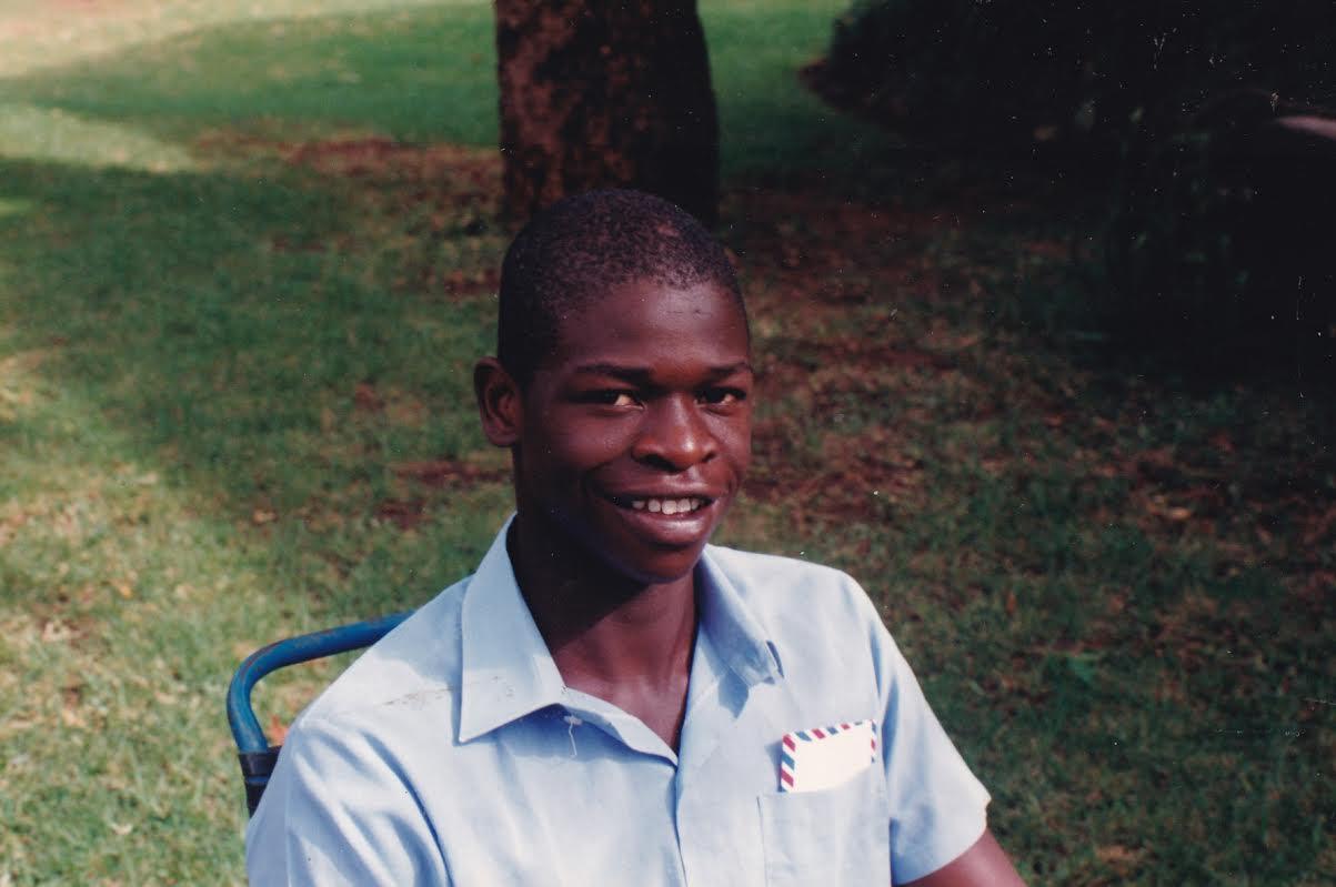 A portrait of Trevor Madondo, Zimbabwean Cricket player