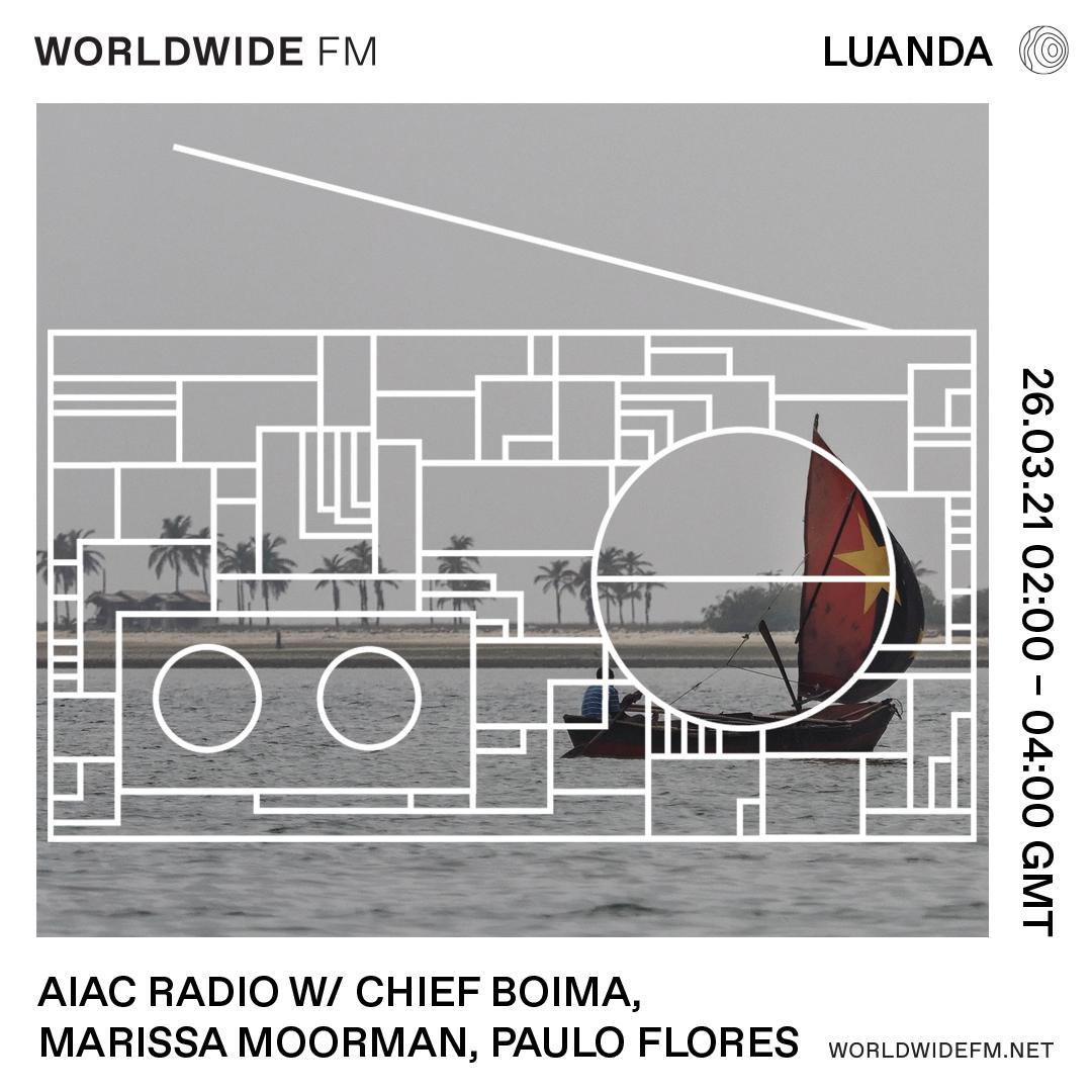 AIAC RADIO-Luanda, Worldwide FM, Chief Boima hosts.