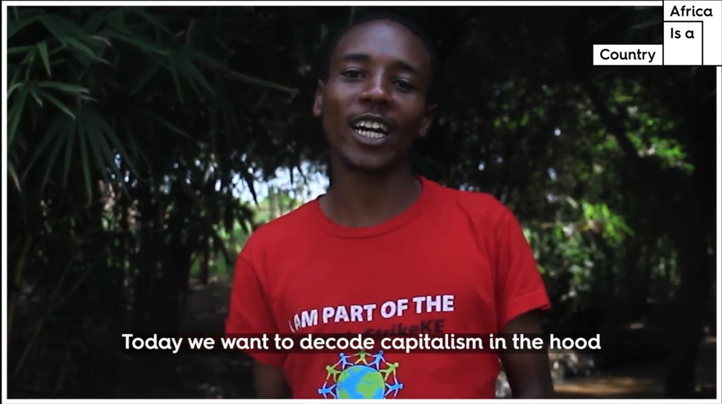 Capitalism in Nairobi explained.