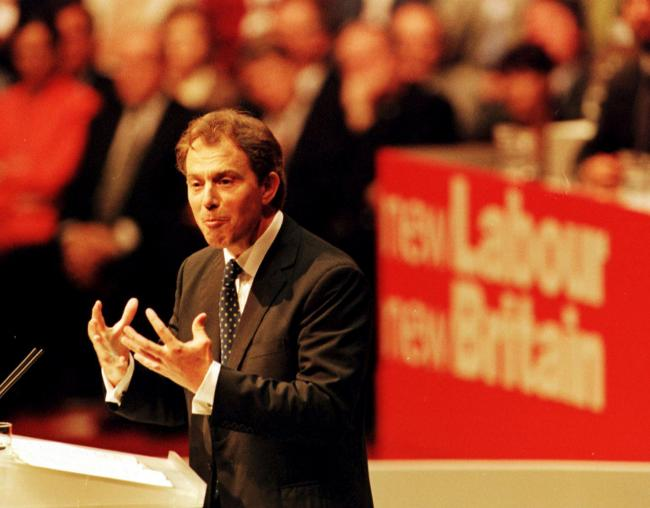 Image result for tony blair 1997 trade unions